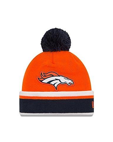 NFL Denver Broncos Team Relation Knit Beanie, One Size, Orange