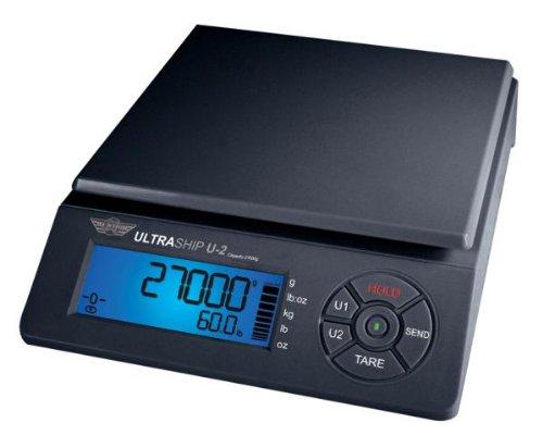 My Weigh SCMULTRA2-60 055 ULTRASHIP U2 60 lb, Black Scale