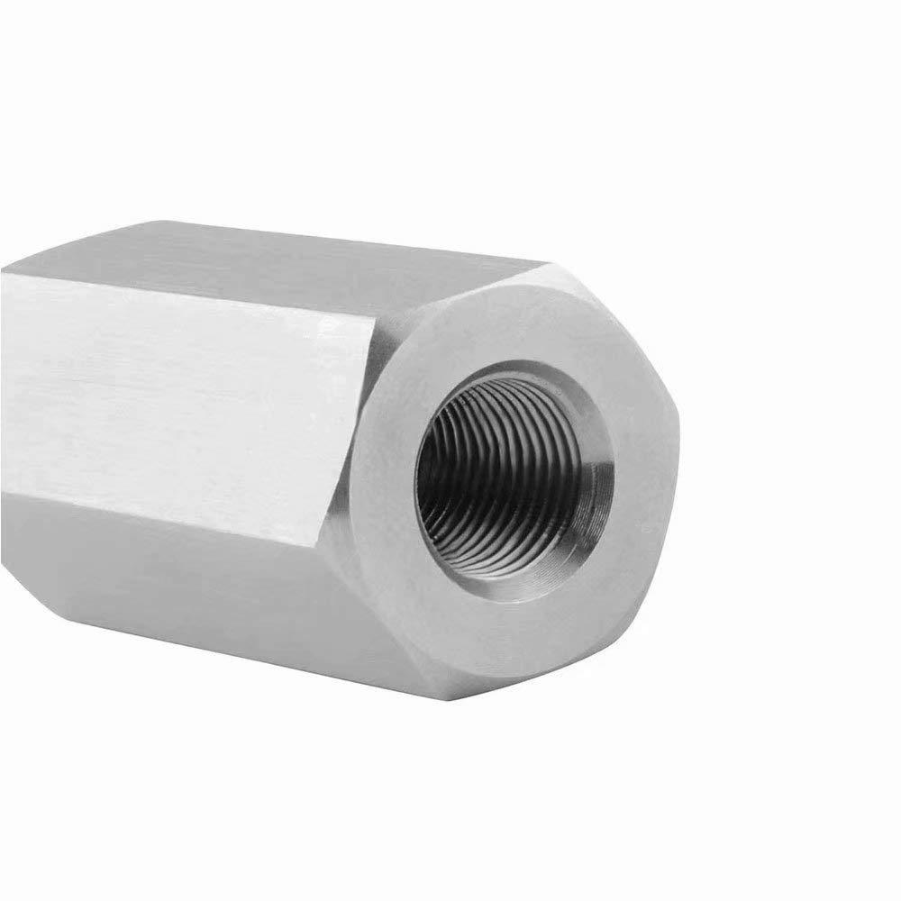 G/·PEH 1//8 NPT Oil Pressure Sensor Tee to NPT Adapter Turbo Supply Feed Line Gauge Stainless Steel