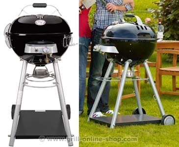OUTDOORCHEF - Parrilla de gas Leon 570, color negro: Amazon ...