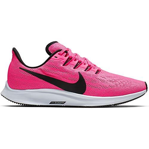 Nike Air Zoom Pegasus 36 Women's Running Shoe Hyper Pink/Black-Half Blue Size 8.5