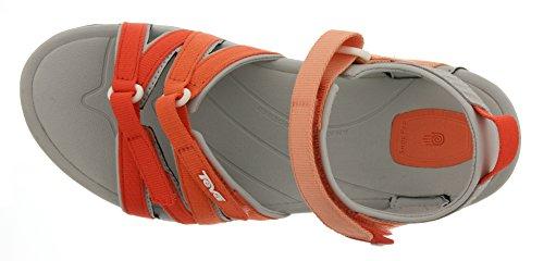 Teva Tirra WS - Sandalias de Senderismo Mujer Naranja - Orange (Coral Gradient 572)