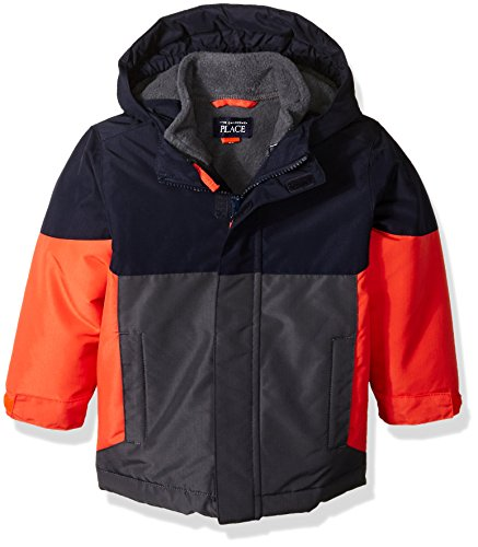 The Children's Place Baby Boys' 3-in-1 Jacket, Heat Wave, (Heat Wave Tab)