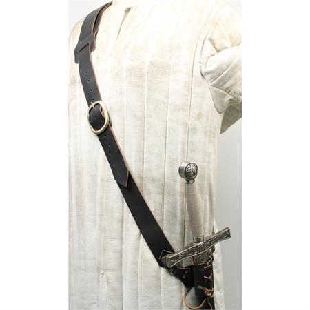 c2bcb20416 Jual Leather Waist Hanger Frog Baldric Sword Harness -