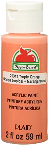 - Apple Barrel Acrylic Paint in Assorted Colors (2 Ounce), 21341E Matte Tropic Orange