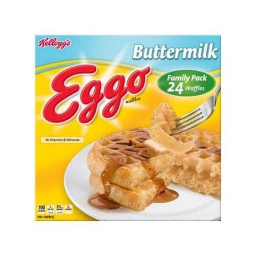 Eggo Buttermilk Waffle, 1.23 Ounce -- 192 per case. by Kellogg's