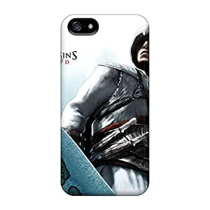 High Quality Mobile Cover For Iphone 5/5s With Provide Private Custom Nice Assassins Creed Pattern CharlesPoirier