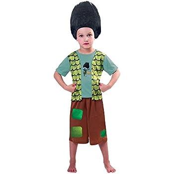 New Disney George Trolls Branch Fancy Dress Costume Outfit [3-4]