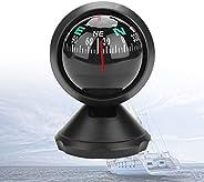 Car Compass, Marine Compass, Adjustable Boat Navigation Electronic Compass, Explorer Compass for Car Boat Vehi