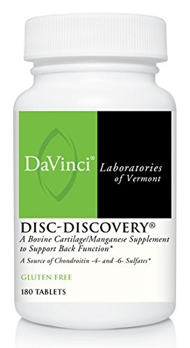 Herniated Disc (DaVinci Laboratories Disc Discovery Tablets, 180 Count)
