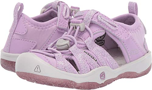 Keen Kids Baby Girl's Moxie Sandal (Toddler/Little Kid) Lupine/Vapor 9 M US Toddler