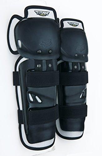 Fox Racing Titan Sport Knee/Shin Guards - One size fits most/Black by Fox Racing