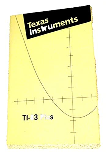 Texas instrument ti 83 manual.