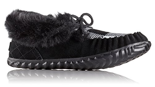 Sorel Women's Out N' About Moc Slipper (37 M EU/6 B(M) US, Black/Black) ()
