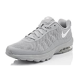 Nike Men's Air Max Invigor Running Shoes, Grey (Wolf Grey/White 005)