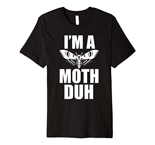 Moth Shirt I'm A Moth Duh Easy Halloween Costume Shirt Gift for $<!--$17.97-->