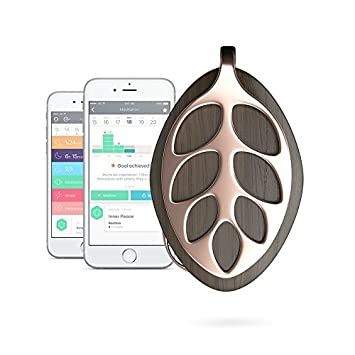 Bellabeat Leaf Nature Health Tracker/Smart Jewelry, Rose Gold Edition