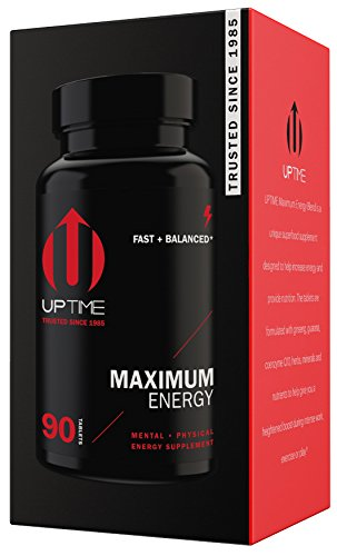 UPTIME Energy Maximum Blend Tablets – 90ct. Bottle