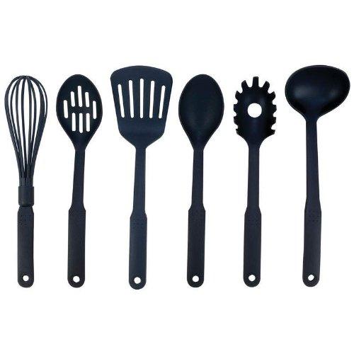 Maxam KT6 6 Piece Nylon Kitchen Tool Set ()