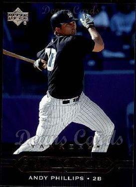 (2005 Upper Deck # 444 Star Rookies Andy Phillips New York Yankees (Baseball Card) Dean's Cards 8 - NM/MT Yankees)