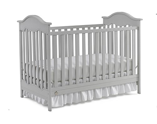 Fisher-Price Charlotte 3-in-1 Convertible Crib, Misty Grey Review