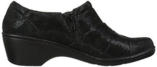 Effet L Clarks Femme Baskets Noir Mode Pour XwwqRvY