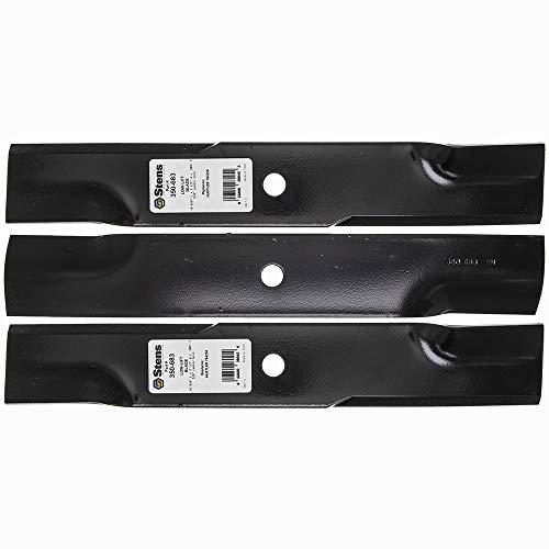 (3 Low-Lift Blades 44