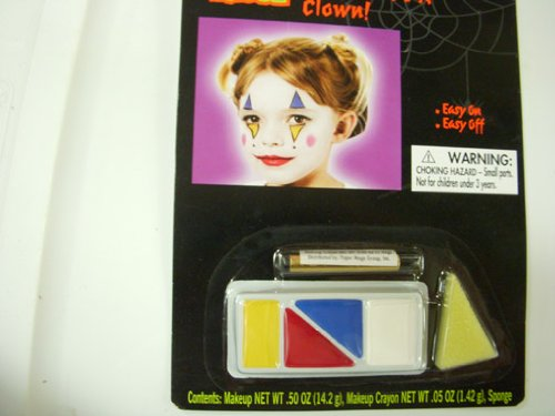 Totally Ghoul Clown Face Paint Body Paint Kit