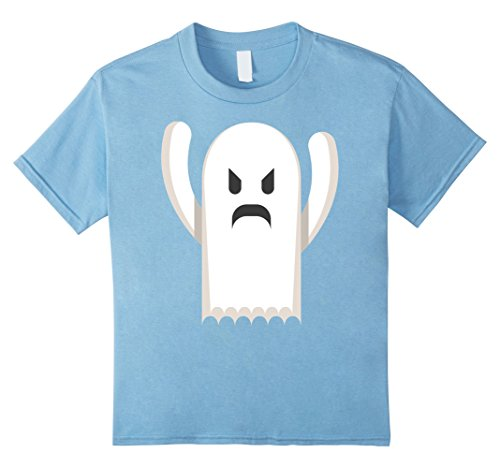 Kids Angry Ghost Tee Funny Halloween Costumes For Kids Gifts Idea 6 Baby Blue (Kids Ghost Costume Ideas)