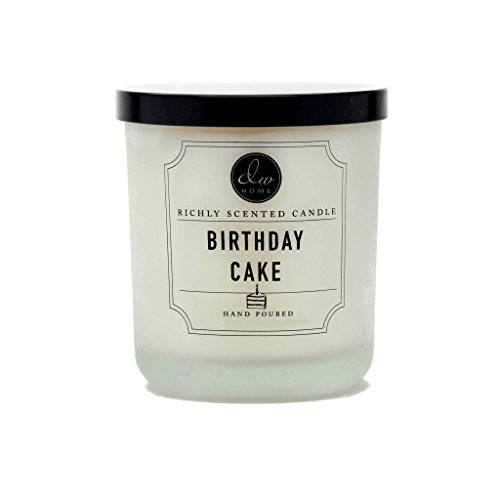 Dw Home Birthday Cake Richly Scented Candle Small Single Wick Hand Poured 4 Oz
