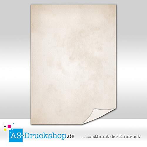 marrone chiaro lavato//100 fogli//DIN A4//90 G carta offset Papyrus//pergamena