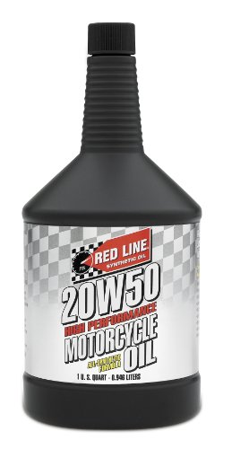 Redline Motorcycle Oil (Red Line 42504 20W-50 Motorcycle Oil - 1 Quart)
