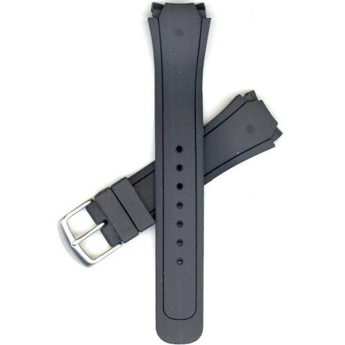 Citizen 59-K50102 Original Replacement Black Rubber Watch Band Strap fits BM8290-05E E101M-K004438