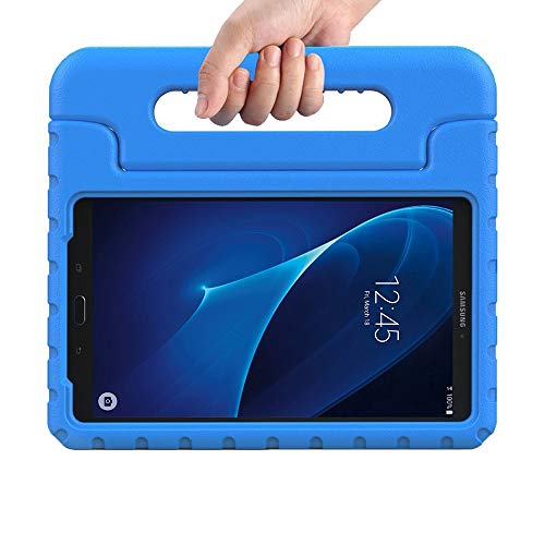 eTopxizu Kids Case for Samsung Galaxy Tab A 7.0 inch,EVA ShockProof Case Light Weight Kids Case Super Protection Cover Handle Stand for Kids Children for Samsung Galaxy TabA 7-inch Tablet(Blue)
