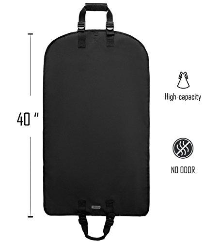Magictodoor Travel Garment Bag 40'' for Suit/Dress w/Adjustable Handle by Magictodoor (Image #1)