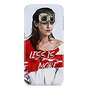 Harry Potter Life Is More Hermione Granger Hard Plastic Phone Case Cover For Samsung Galaxy S6 Edge
