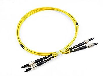 SMA 905 to SMA 905 SingleMode Duplex Fiber Optic Patch Cable (10m, 3.0mm) Shenzhen TRT Fiber Tech. Co. Ltd