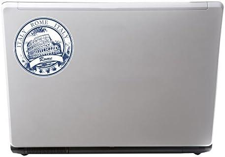 2 x Italy Rome Vinyl Sticker iPad Laptop Car Travel Luggage Tag Italian #5928