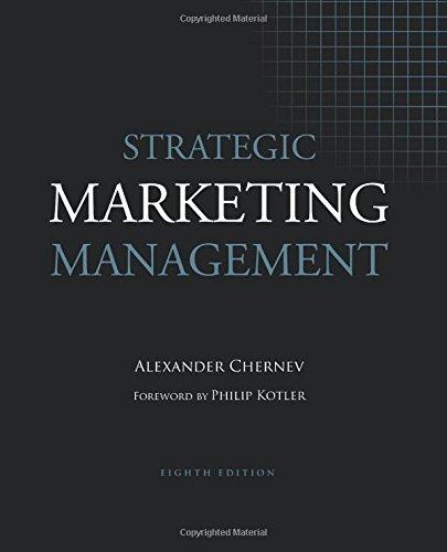(Strategic Marketing Management, 8th Edition)