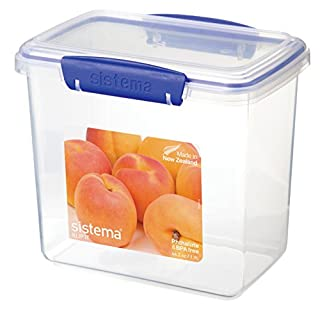 Sistema 1680 Klip It Collection Rectangle Food Storage Container, 64.2 Ounce (B00CYI5IQ2) | Amazon price tracker / tracking, Amazon price history charts, Amazon price watches, Amazon price drop alerts