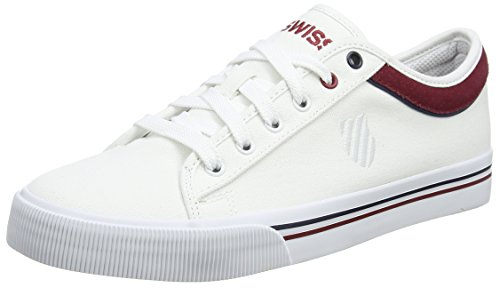 Dress Wei EU II Biking Blanc Adulte Swiss Blue 43 Sneakers White Basses Red Mixte K Bridgeport pa6qTW0a