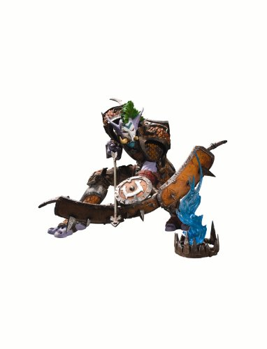 DC Unlimited World of Warcraft: Premium Series 3: Troll Hunter: Taz'dingo Action Figure