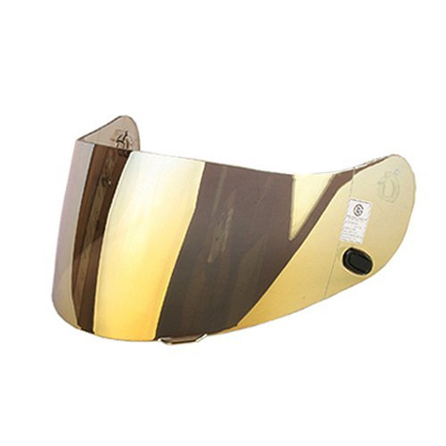 - HJC Helmet HJ-09 RST Mirror Coating Shield Visor Gold Color
