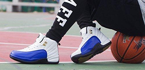 JiYe Performance Sportschuhe Damen Herren Laufschuhe, Fashion Sneskers, Basketballschuh Blau
