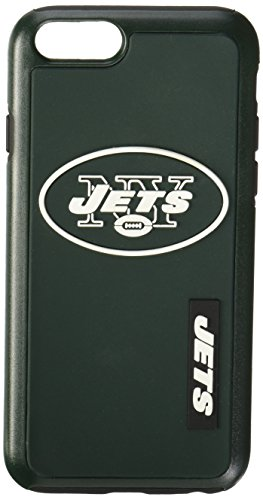 Forever Collectibles - Licensed NFL Cell Phone Case for Apple iPhone 6/6s - Retail Packaging - New York Jets