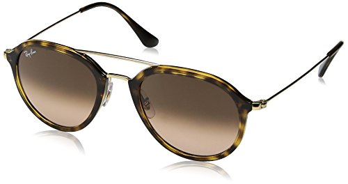 Ray-Ban Injected Unisex Square Sunglasses, Havana, 50 - Ban Add Ray