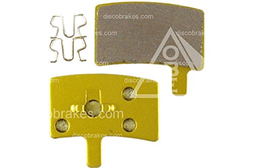 1 Pair F1 Metallic Sintered Hayes Stroker Trail Disc Brake Pads Copper Backed