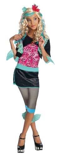 All Monster High Costumes (Monster High Lagoona Blue Costume - One Color - Medium)