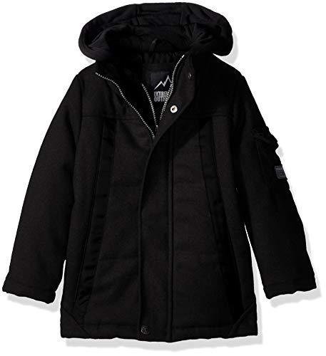 ol Puffer Jacket with Fleece Vestee, Black 8 ()