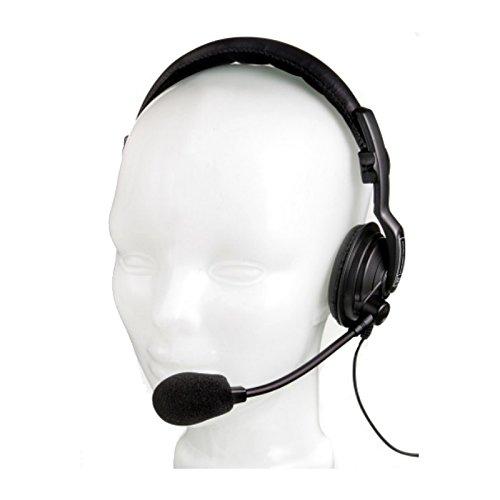 (Pro Intercom SMH710 | Single Muff 400 Ohm Earspeaker 200 Ohm Mic Headset)
